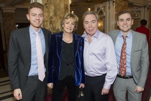 Alastair Lloyd Webber, Madeleine Lloyd Webber, Andrew Lloyd Webber and William Lloyd  Photo