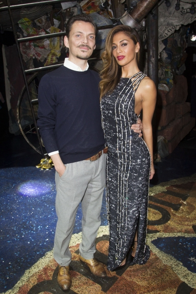 Matthew Williamson and Nicole Scherzinger