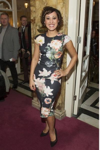 Sophia Ragavelas (Alternate Grizabella) arrives on Press Night for Cats at the London Palladium