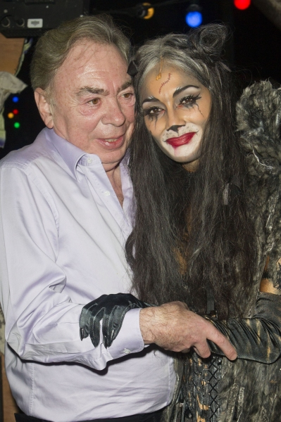 Andrew Lloyd Webber (Music) and Nicole Scherzinger (Grizabella)