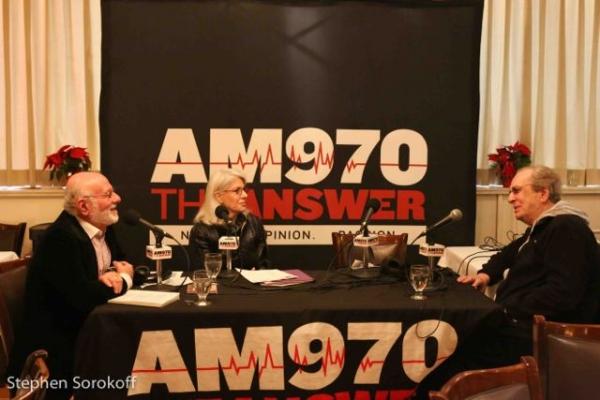 Photo Coverage: Danny Aiello Visits Backstage with Peter LeDonne