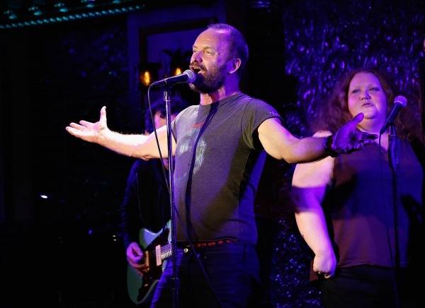 Photo Flash: Sting, Josh Radnor & More Take Part in Starry DON'T QUIT YOUR NIGHT JOB at 54 Below!