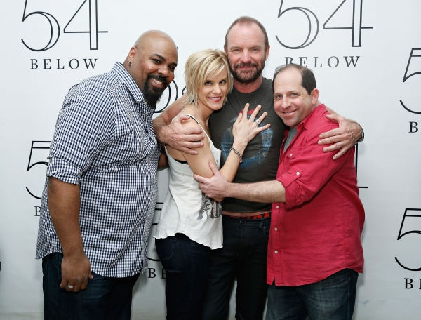 James Monroe Iglehart, Jenn Colella, Sting and Jason Kravits