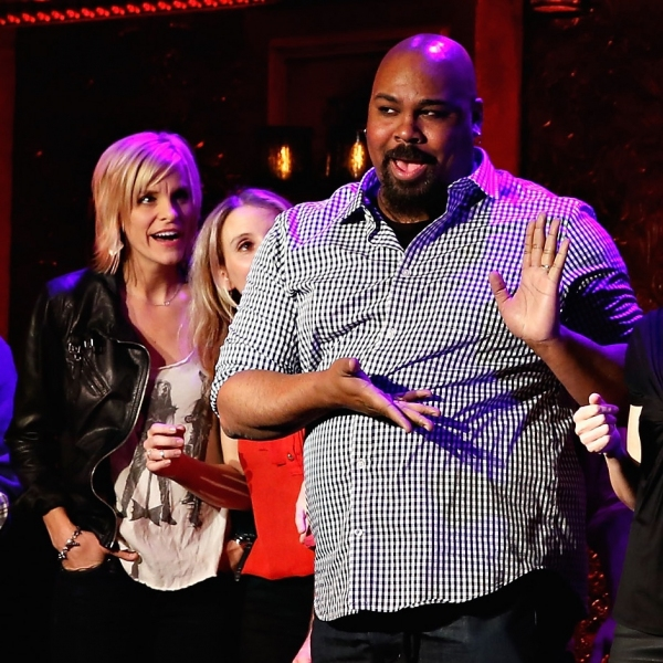 David Rossmer, Steve Rosen, Jenn Colella, Sarah Saltzberg, James Monroe Iglehart, Kate Wetherhead and Alex Brightman