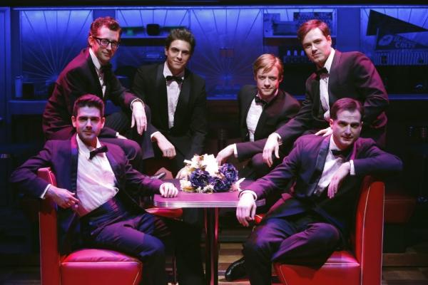 Adam Kantor (Eddie), Josh Grisetti (Shrevie), Derek Klena (Boogie), Matthew James Thomas (Fenwick), Aaron C. Finley (Billy), and Bryan Fenkart (Modell)