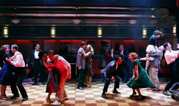 Photo Flash: First Look at Josh Grisetti, Matthew James Thomas, Adam Kantor and the Cast of Sheryl Crow's DINER at Signature Theatre!