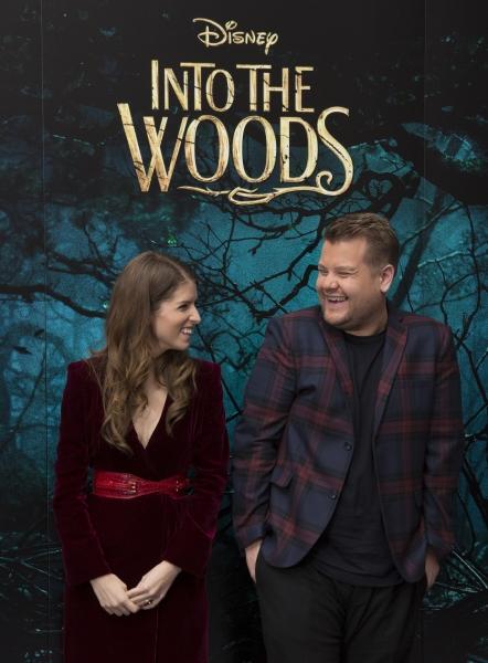 Anna Kendrick and James Corden