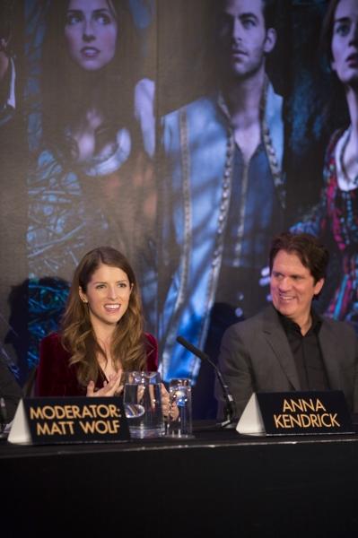 Anna Kendrick and director Rob Marshall