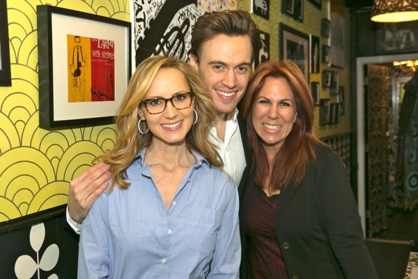 Chely Wright, Erich Bergen, Victoria Shaw Photo