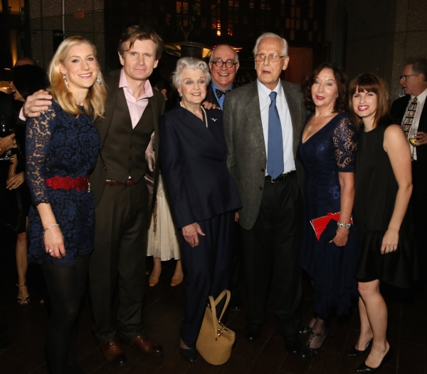 Charlotte Parry, Charles Edwards, Angela Lansbury, Simon Jones, Michael Blakemore, S Photo