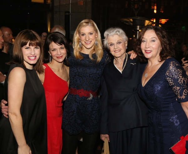 Jemima Rooper, Susan Louise O'Connor, Charlotte Parry, Angela Lansbury and Sandra Shi Photo