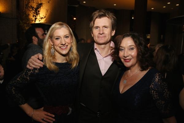 Charlotte Parry, Charles Edwards and Sandra Shipley