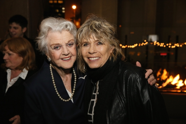 Photo of Angela Lansbury  & her Daughter  Deidre Angela Shaw