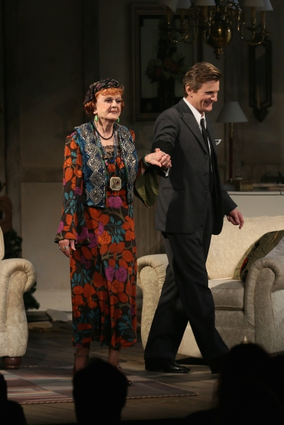 Angela Lansbury and Charles Edwards