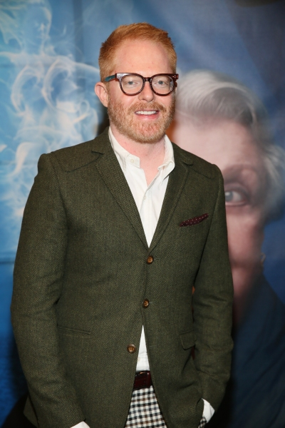 Actor Jesse Tyler Ferguson arrives for the opening night performance of ''Blithe Spirit'' at Center Theatre Group/Ahmanson Theatre on December 14, 2014, in Los Angeles, California. (Photo by Ryan Miller/Capture Imaging)