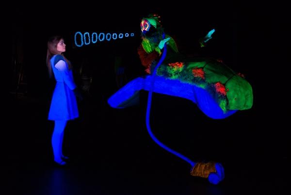 Emiley Kiser (as Alice), Khris Davis (as The Caterpillar)