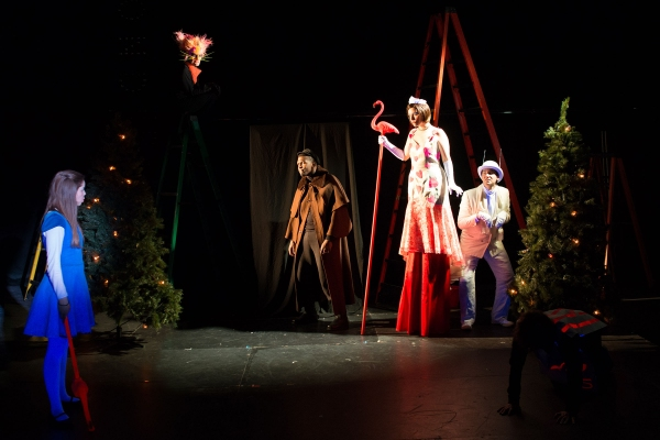 Emiley Kiser (as Alice), Andrew Betz (as The Cheshire Cat), Khris Davis (as The Gryphon), Faith Fossett (as The Queen of Hearts), Sean Close (as The White Rabbit)