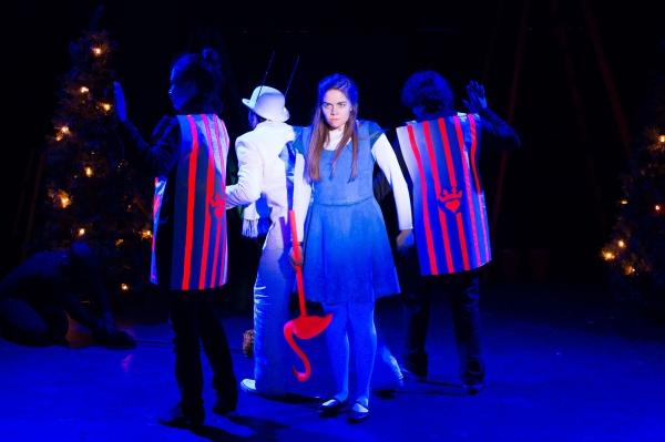 Anita Holland, Sean Close (as The White Rabbit), Emiley Kiser (as Alice), Johnny Smith