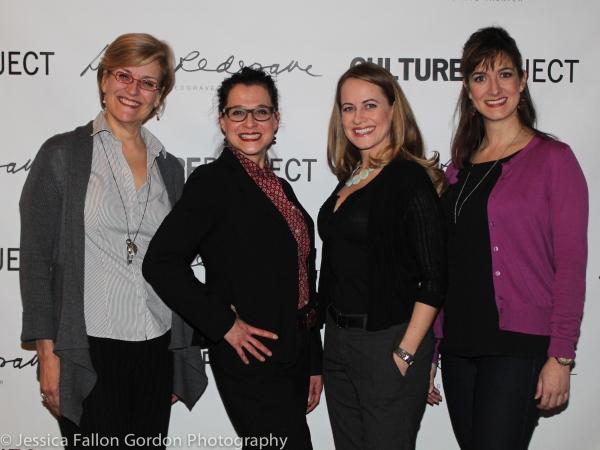 Karen Mason, Rachel Coloff, Mamie Parris, and Jennifer Swiderski