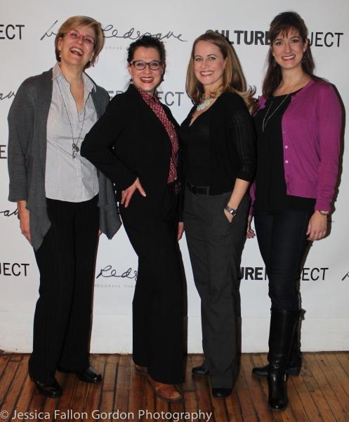 Karen Mason, Rachel Coloff, Mamie Parris, and Jennifer Swiderski Photo
