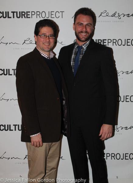 Director Igor Goldin and Playwright Eric Ulloa