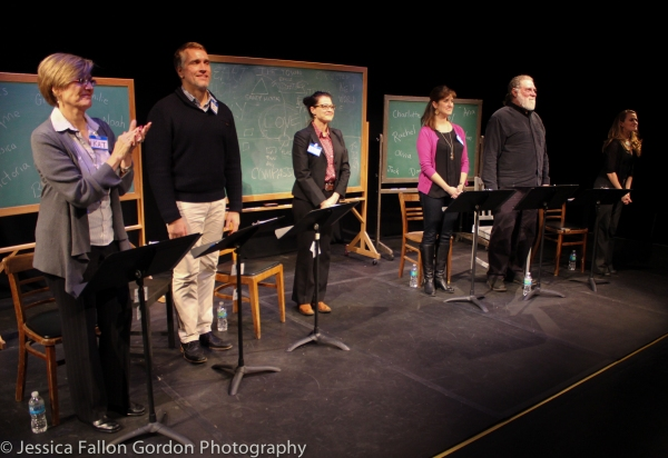 Karen Mason, Mike McGowan, Rachel Coloff, Jennifer Swiderski, Richard Masur and Mamie Parris