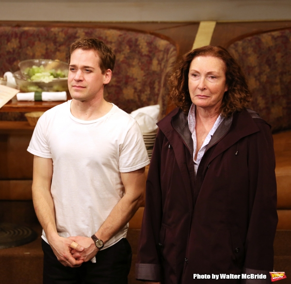 T.R. Knight and Brenda Wehle