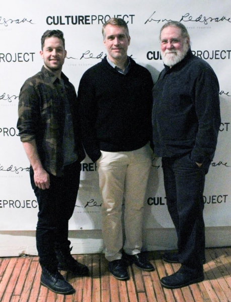 Ben Thompson, Mike McGowan and Richard Masur