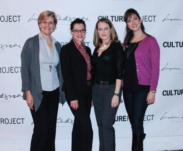 Karen Mason, Rachel Coloff, Mamie Parris and Jennifer Swiderski