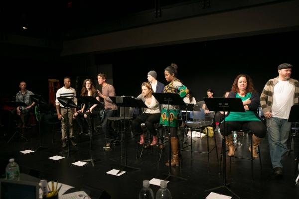 Photo Flash: Jessie Mueller, Bryce Pinkham, Keala Settle & More Workshop Sara Bareilles' WAITRESS Musical in NYC!