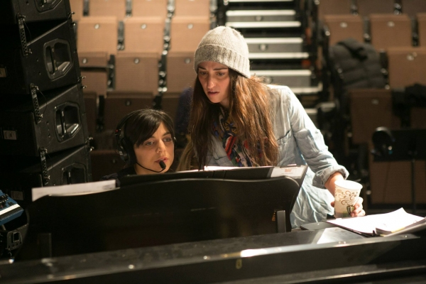 Nadia DiGiallonardo and Sara Bareilles