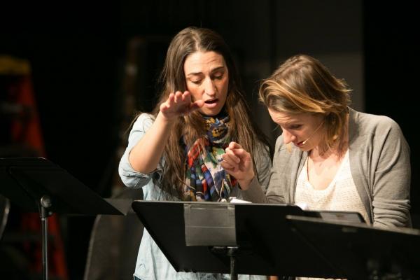 Sara Bareilles and Jessie Mueller