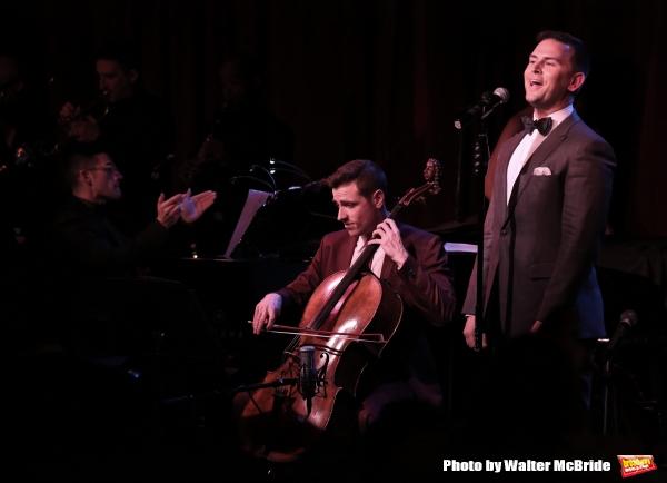 Jesse Vargas, Elad Kabilio and Daniel Reichard