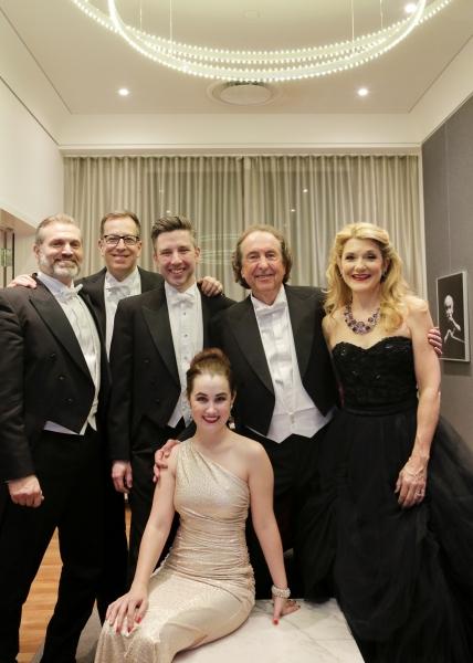Marc Kudisch, Ted Sperling, William Ferguson, Lauren Worsham, Eric Idle, and Victoria Photo