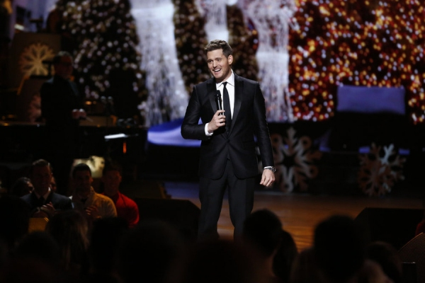 MICHAEL BUBLE'S CHRISTMAS IN NEW YORK -- Pictured: Michael Buble -- (Photo by: Peter Kramer/NBC)