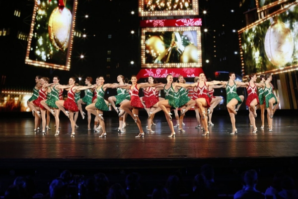 MICHAEL BUBLE''S CHRISTMAS IN NEW YORK -- Pictured: The Rockettes -- (Photo by: Peter Kramer/NBC)