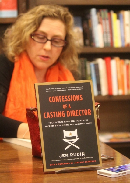 Photo Flash: Jen Rudin's CONFESSIONS OF A CASTING DIRECTOR Celebrates One Year in Publication
