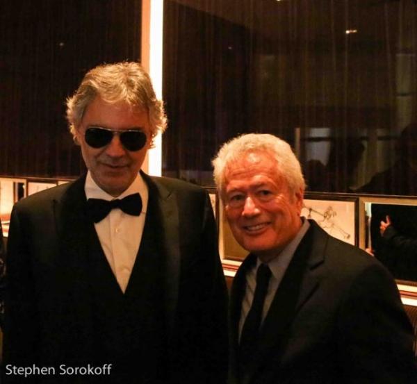 Andrea Bocelli & Stephen Sorokoff