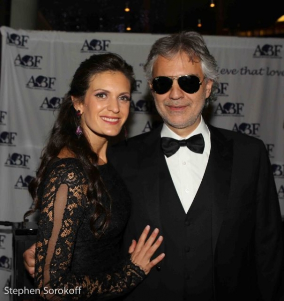 Veronica Berti Bocelli & Andrea Bocelli Photo