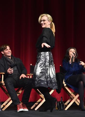 Chris Pine, Meryl Streep, Tracey Ullman