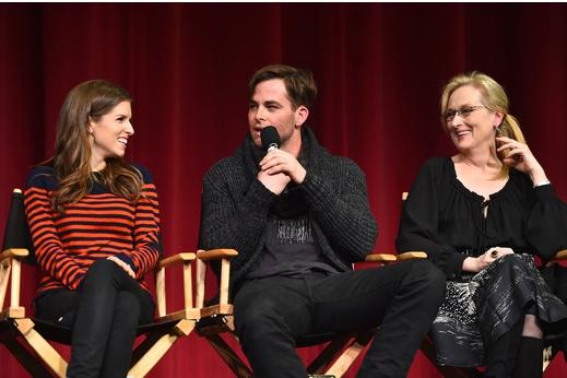 Anna Kendrick, Chris Pine, Meryl Streep