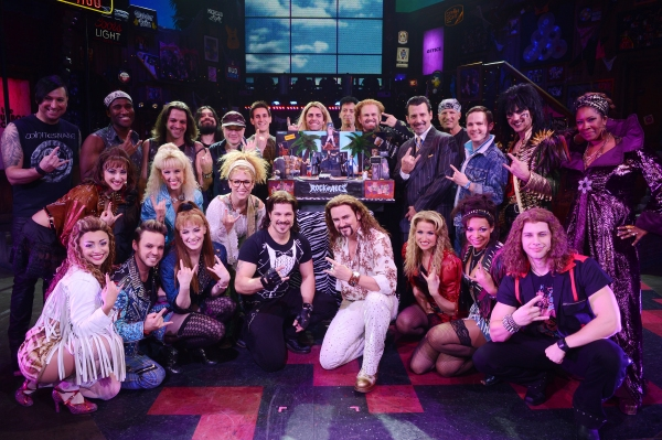 Photo Flash: ROCK OF AGES Celebrates Second Anniversary in Las Vegas