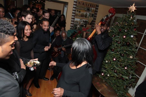 Melba Joyce performing and Shaun Derik's GOOD NIGHT