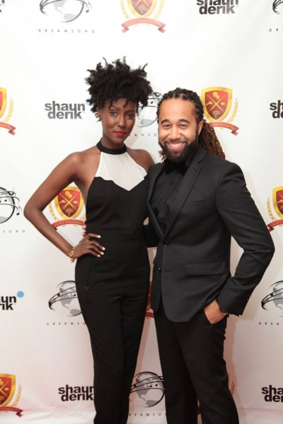 Shaun Derik and Jade Eshete