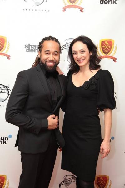 Shaun Derik and Gabriele Garcia