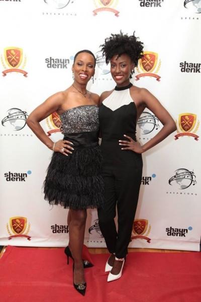 Brenda Braxton and Jade Eshete