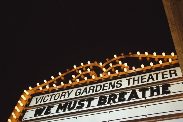 Victory Gardens Theater during We Must Breathe on Thursday, December 18, 2014