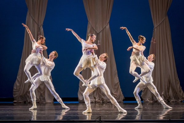 Smuin dancers Erica Chipp and Robert Moore,  Terez Dean and Jonathan Powell, Jo-Ann Sundermeier and Weston Krukow are featured in Fantasia - a new work choreographed by Nicole Haskins