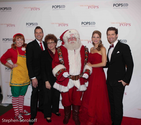 Elf, Steven Reineke, Judith Clurman, Santa, Kelli O''Hara, Matthew Morrison
