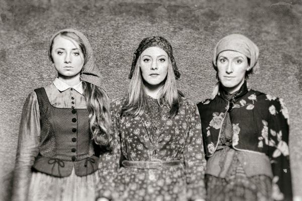 Emily Rynasko, Hannah Freeman and Sarah Stevens